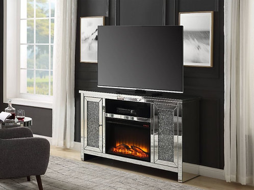 #027 TV STAND ELECTRIC FIREPLACE