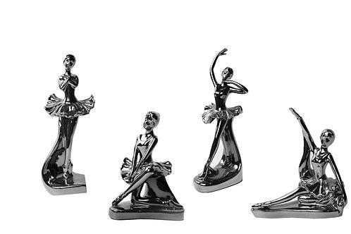 Set Bailarinas Sculptures 4pc