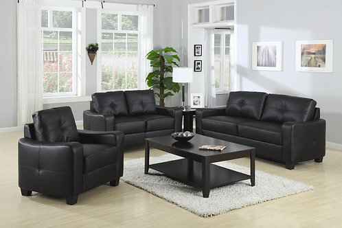 Jasmine Bonded Leather Sofa/Love Seat