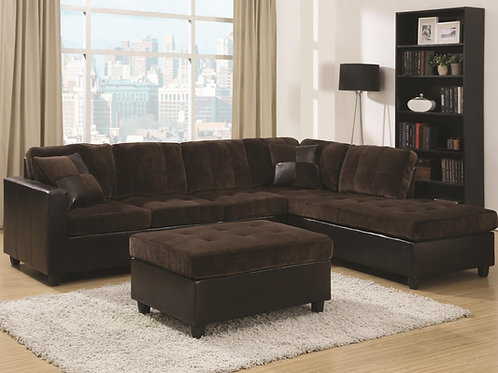 #005 Mallory Casual and Contemporary Ottoman
