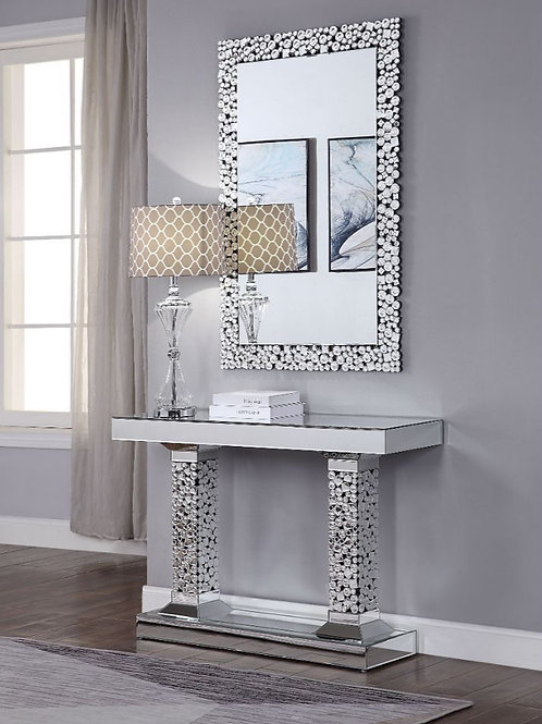 #014 KACHINA CONSOLE TABLE & MIRRORED