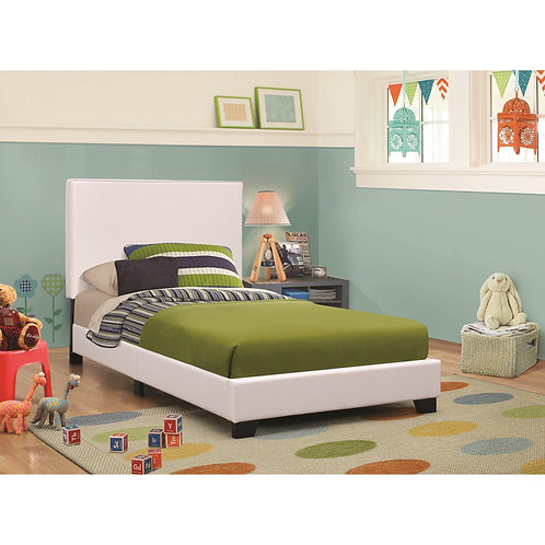 Upholstered Beds Upholstered Low-Profile Twin Bed