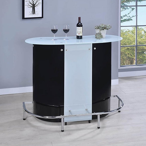 #018 CONTEMPORARY ACRYLIC BAR UNIT