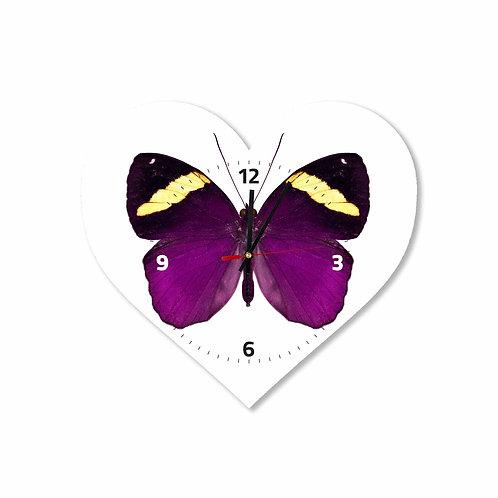 #46 Purple Butterfly Heart