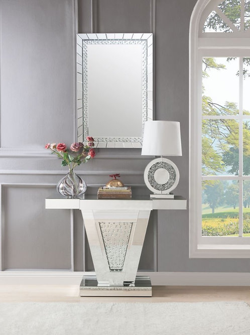 #007 NYSA CONSOLE TABLE & MIRRORED