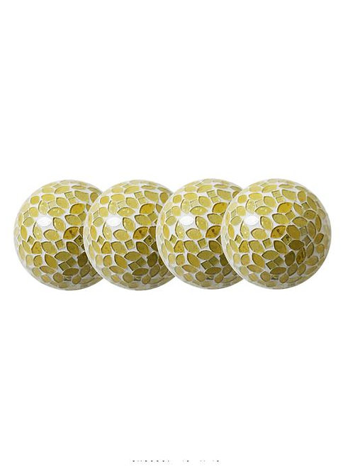 Yellow Gold Decorative Orb