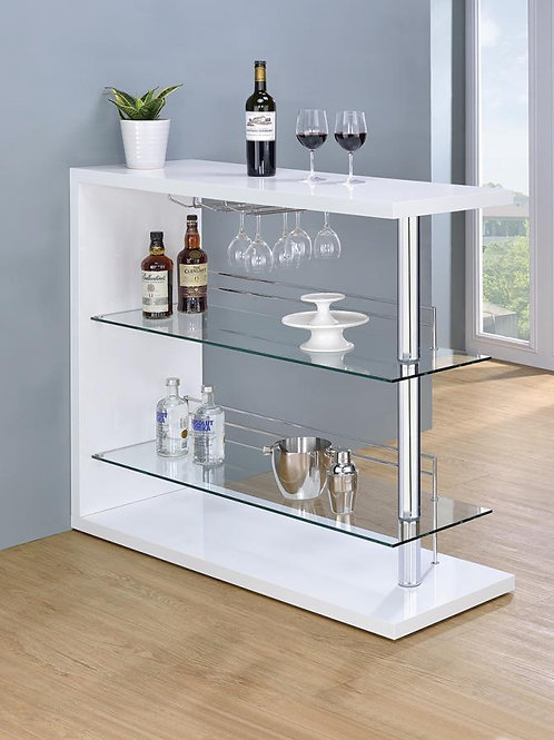 #019 GLOSSY BAR UNIT BLACK OR WHITE