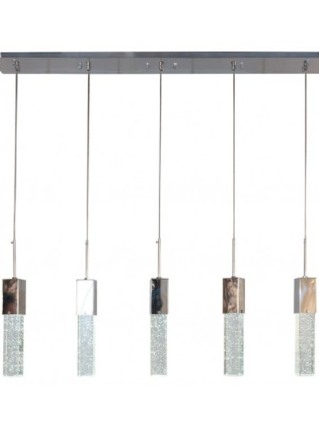 FINESSE LIGHTING- SPARKLING NIGHT- 5 PENDANT
