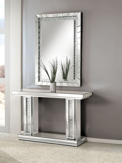 #016 NYSA CONSOLE TABLE & MIRRORED