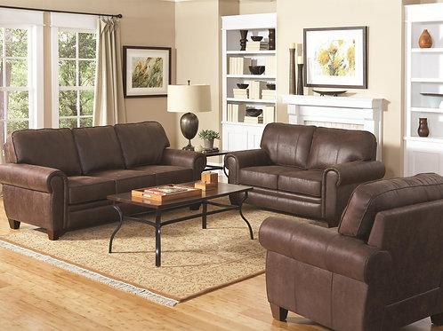 Bentley Elegant and Rustic Family Room Sofa/Loveseat