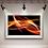 Thumbnail: #089 ABSTRACT FIRE GLASS WALL ART
