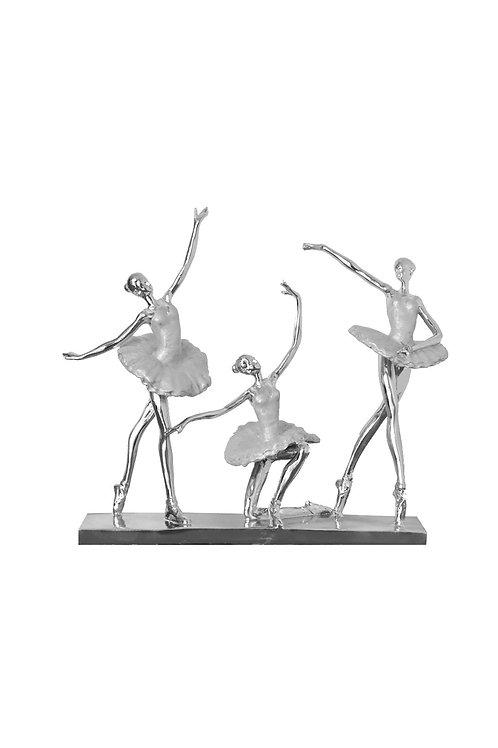 SILVER BALLERINA DANCERS