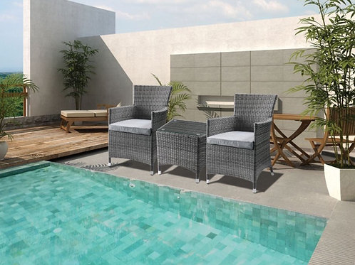 Tashelle 3Pc Patio Bistro Set