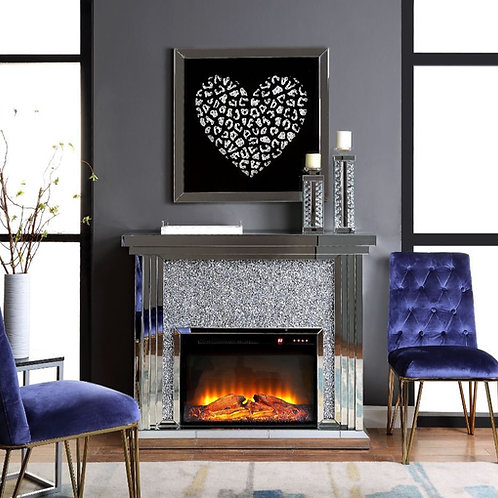 #001 NORALIE FIREPLACE DIAMOND