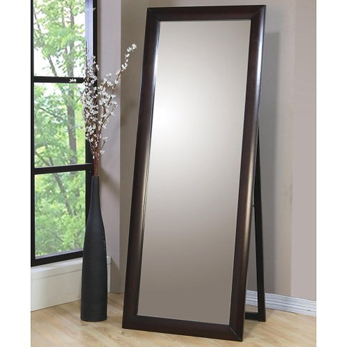 PHOENIX FLOOR MIRROR WARM BROWN