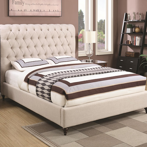 #021 DEVON QUEEN UPHOLSTERED BED