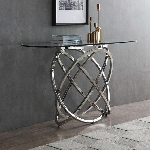 Modrest Tulare Steel Console Table