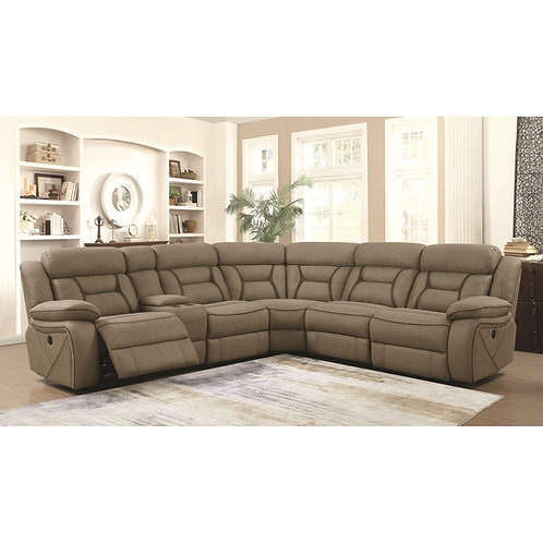 #002 CAMARGUE RECLINING POWER SECTIONAL