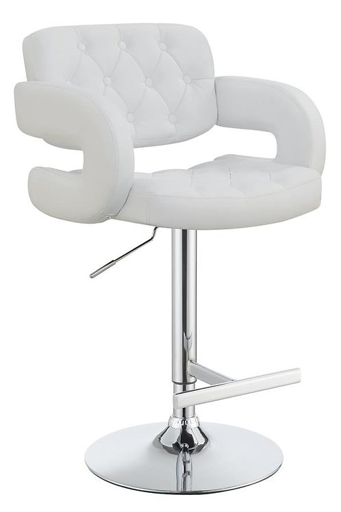 #009 ADJUSTABLE BAR STOOL AVAILABLE BLACK/WHITE/BROWN