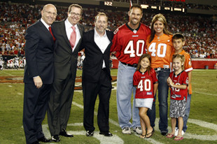 Mother's Day with Mike Alstott