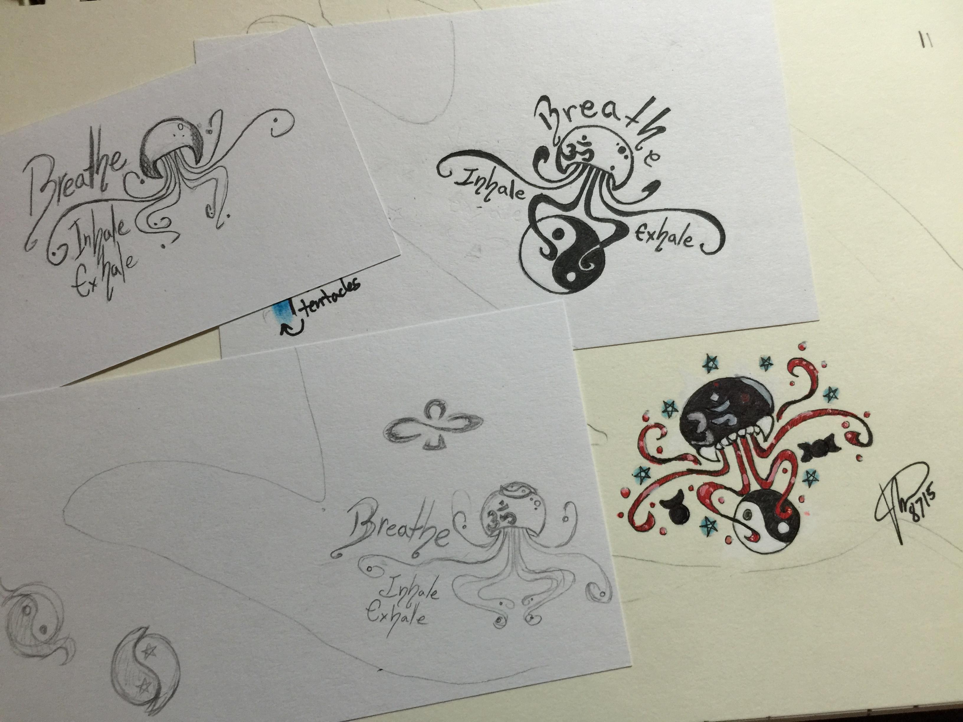Tattoo Design Sketches