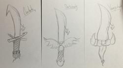 Machete Sketches