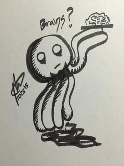 Zombie Waiter Jellyfish