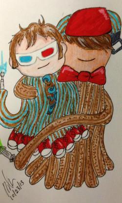 10 & 11 Doctor Cuddle
