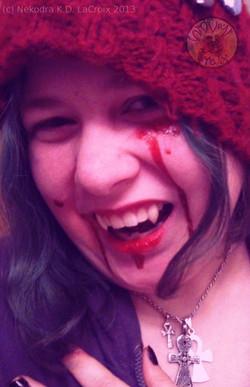The Giggling Vampire Nekodra