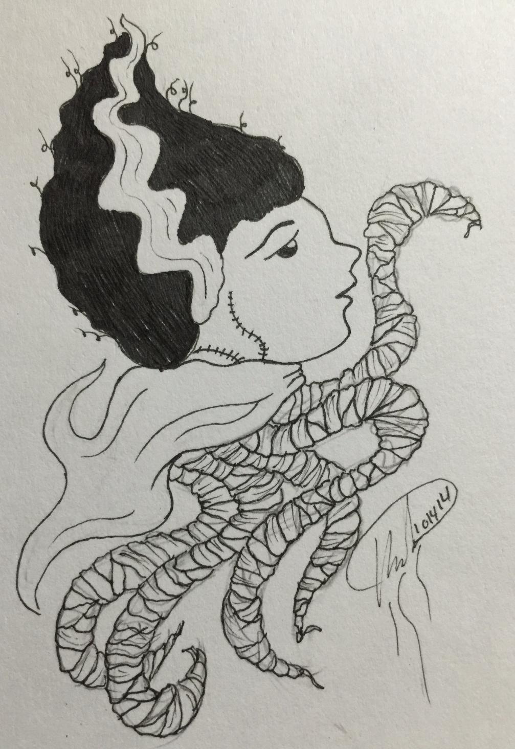 Bride of Frankenstein Jellyfish