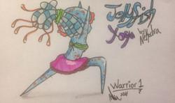 Pose 1: Warrior 1