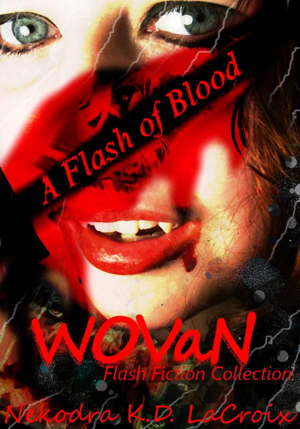 Flash of Fiction -Cover Art