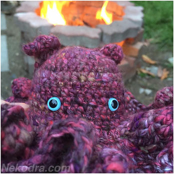 Handmade Dumbo Octopus by Nekodra - click to purchase other handmade goods on etsy