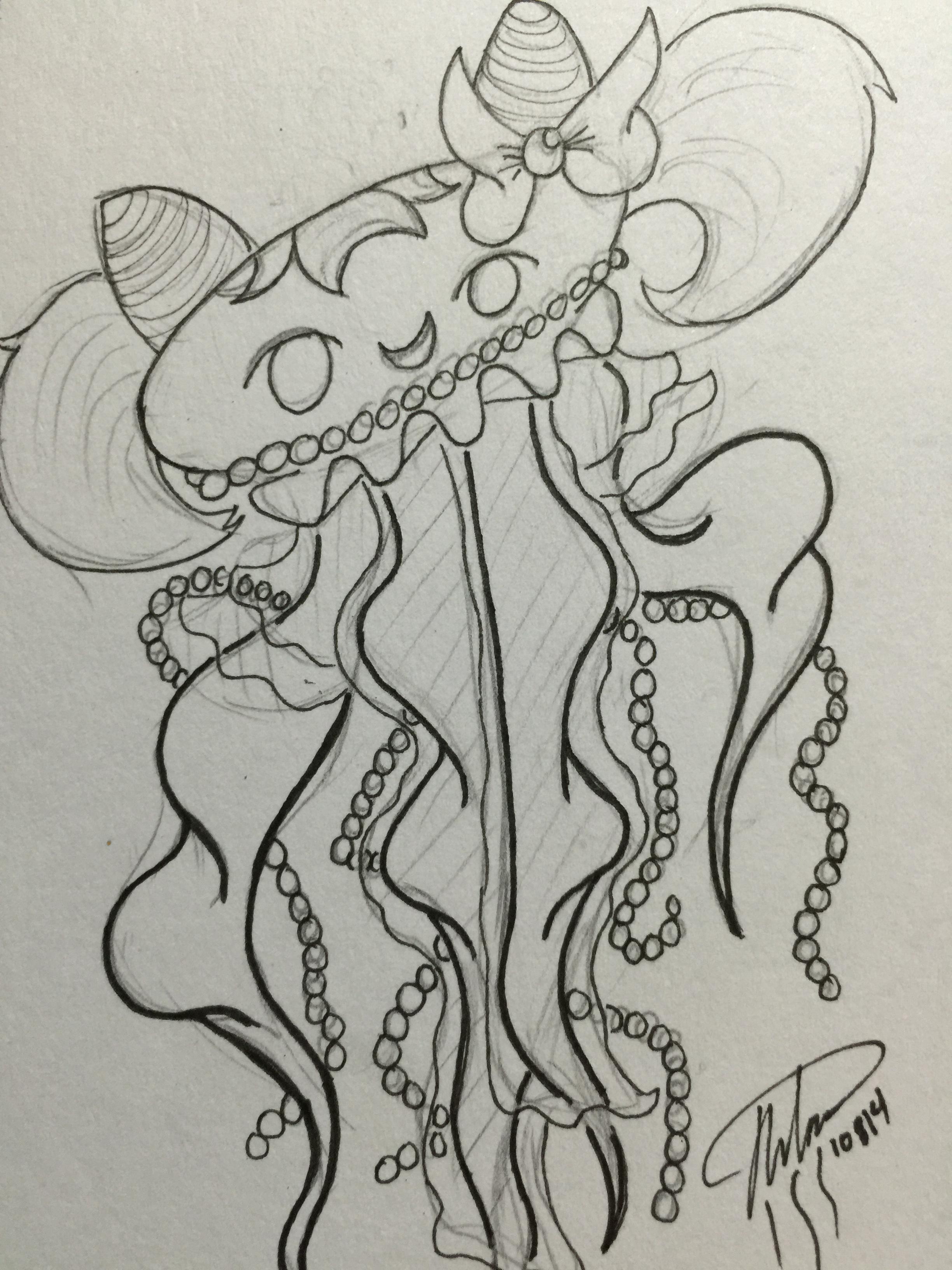 Mini Sailormoon Jellyfish