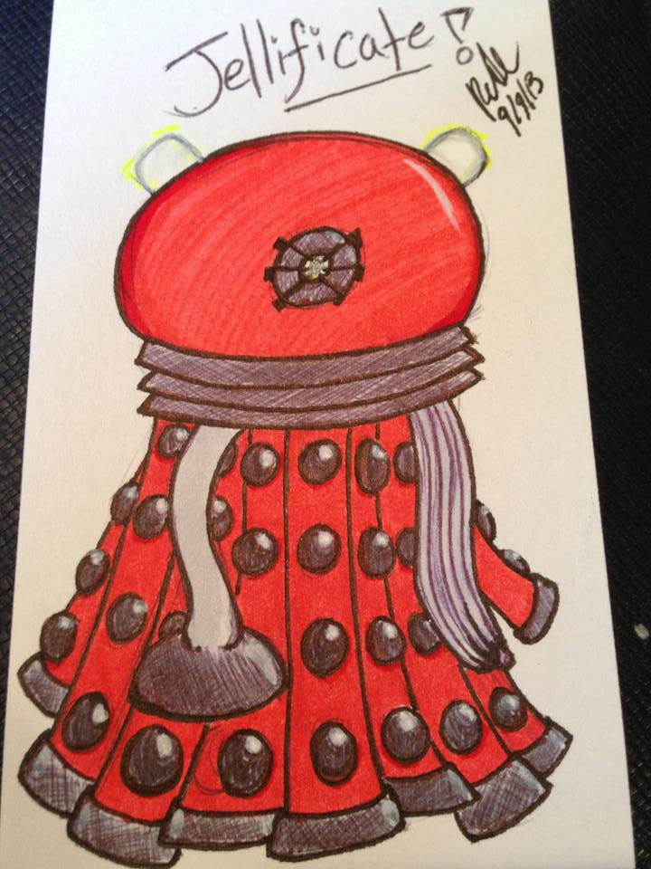 Dalek Jelly