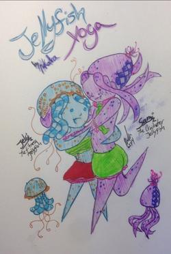 Jellyfish Yoga Cover