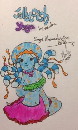 Pose 7: Sage Bharadvajas Pose