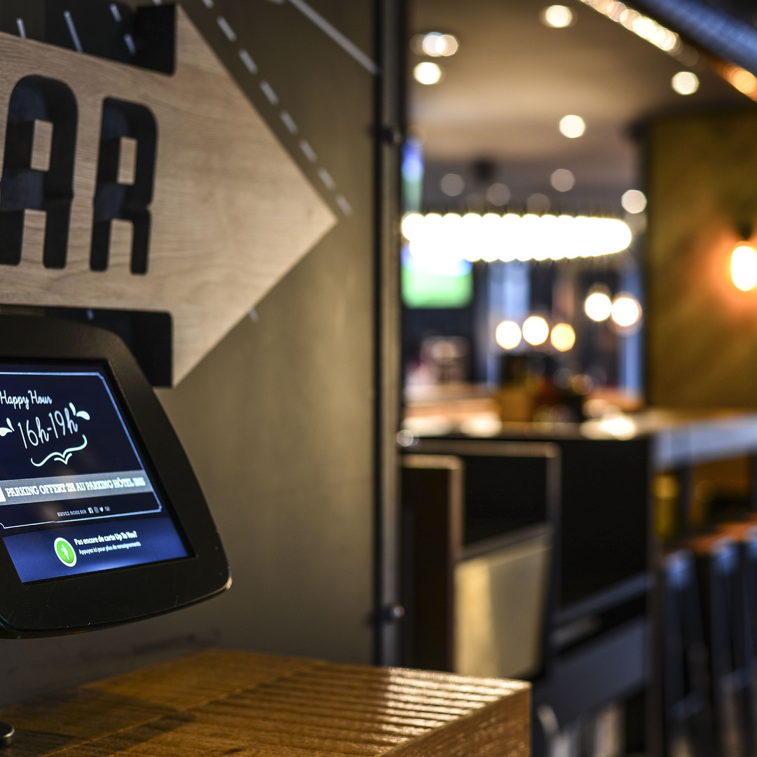 Borne Self Service Bar Digital Up To You