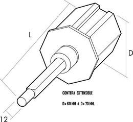 Contera extensible