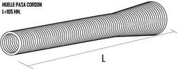 Muelle para cordón