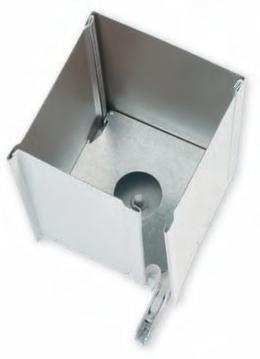 Cajón de chapa de aluminio