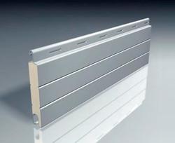 Lama de aluminio recta