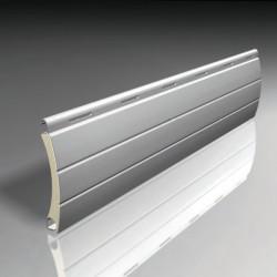 Lama de aluminio curvada