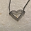Thumbnail: Clear Crystal Heart Bracelet