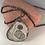Thumbnail: Stone Slice Pendant Necklace