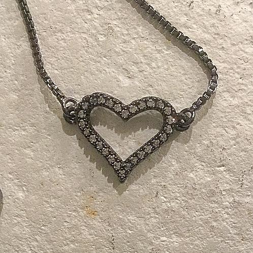 Chain Heart Bracelet