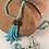 Thumbnail: Turquoise Crystal Tassel