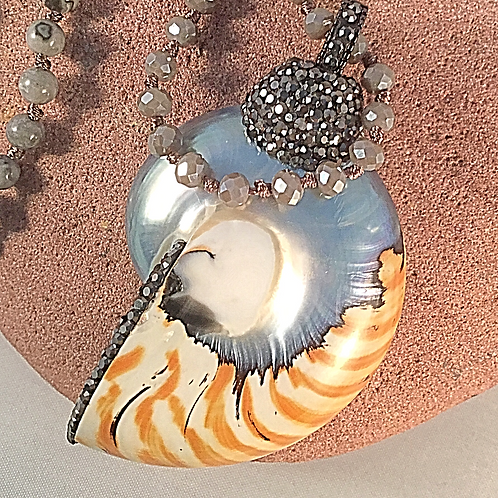 Natural Shell Pendant