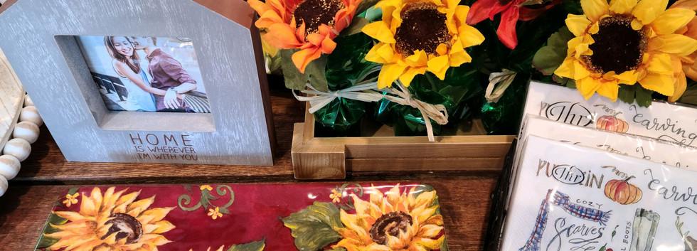 Sunflower Home Decor