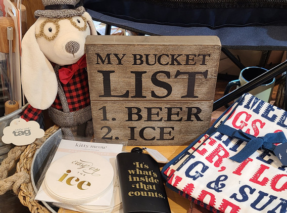 So many unique gift ideas!